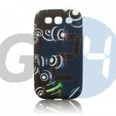 G3500 core plus mintás szilikontok fehér karikás Galaxy Core Plus G350  E005609