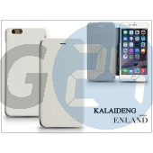 Apple iphone 6 plus flipes tok - kalaideng enland series - white KD-0301