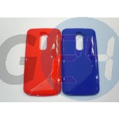 Lg g2 kék hullámos szilikontok G2  E005100