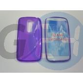 Lg d620 g2 mini lila hullámos szilikontok G2 mini  E006440