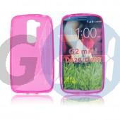 Lg d620 g2 mini pink hullámos szilikontok G2 mini  E006090