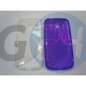 G3500 core plus átlátszó hullámos szilikontok Galaxy Core Plus G350  E005104