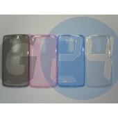 Lg d855 g3 extraslim szilikontok víztiszta pink G3  E006108