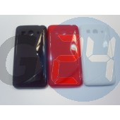 Huawei g525 piros hullámos szilikontok G525  E004219
