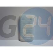 S5660 gio fehér rácsos hátlapvédő Galaxy Gio S5660  E001713
