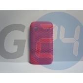 S5660 gio pink rácsos hátlapvédő Galaxy Gio S5660  E001712