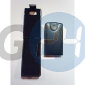 Htc hd2 felülcsattos fekete bőrtok Desire HD2  E000657