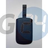 Htc kihúzós fekete bőrtok hd2 méret feliratos Desire HD2  E000655