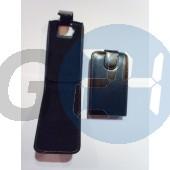 Htc touch hd felülcsattos fekete bőrtok Desire HD  E000656
