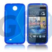 Htc desire 300 kék hullámos szilikontok Desire 300  E004700
