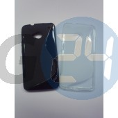 Htc one fekete hullámos szilikontok Galaxy Gio S5660  E003294