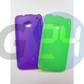 Htc one lila hullámos szilikontok One  E003602
