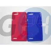 Huawei g6 kék hullámos szilikontok G6  E006299