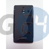 Huawei w1 fekete hullámos szilikontok W1  E003883