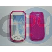 I5800 galaxy3 pink szilikontok Galaxy3 i5800  E000685