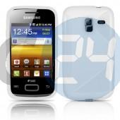 I8160 ace2 fehér hullámos szilikontok Galaxy Ace2  E000700
