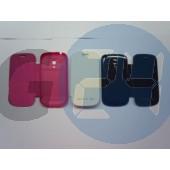 I8190 galaxy s3 mini gyári jellegű oldaltnyitós tok - pink Galaxy S3 mini  E003817