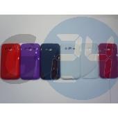 I8580 core advance piros hullámos szilikontok Galaxy Core Advance i8580  E005653