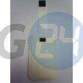 I9000 forcell egyszínű kihúzós tok fehér Galaxy S  E000711