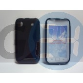I9000 fekete hullámos szilikontok Galaxy S  E000718