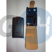 I9000 felülcsattos fekete bőr Galaxy S  E000709
