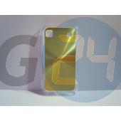 I9000 hátlapvédő arany Galaxy S  E000724