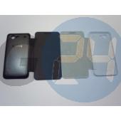 I9070 galaxy advance gyári jellegű oldaltnyitós tok - fekete Galaxy S Advance  E005138