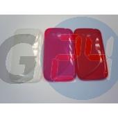 I9080 galaxy grand piros hullámos szilikontok Galaxy Grand i9080  E005692