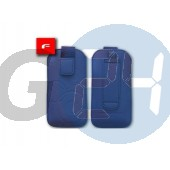 4g forcell egyszínű kihúzós tok kék iPhone4/4s  E003935