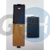 Lg l3 fekete slim kinyitós tok LG L3  E001166