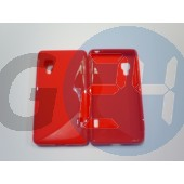 Lg l5 ii piros hullámos szilikontok LG L5 II  E005101