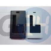 Lumia 920 oldalt nyitós kivágott tok fekete Lumia 920  E003835