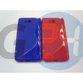 Lg l9 ii piros hullámos szilikontok L9 II  E005188