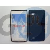 Lg p880 optimus 4x hd fekete hullámos szilikontok LG P880 Optimus 4X HD  E001145