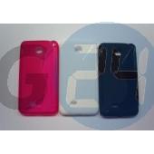 Lg f5 pink hullámos szilikontok F5  E003886