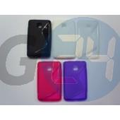 Lg l3 ii pink hullámos szilikontok LG L3 II  E003520