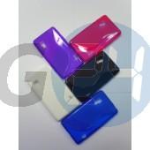 Lg l5 ii lila hullámos szilikontok LG L5 II  E003524