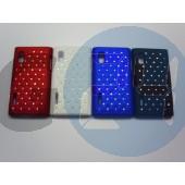 Lg l5 strasszos hátlapvédő kék LG L5  E003245