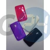 Lg l7 ii (p715)pink hullámos szilikontok LG L7 II   E003530