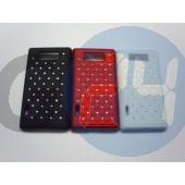 Lg l7 strasszos hátlapvédő fekete LG L7  E003246
