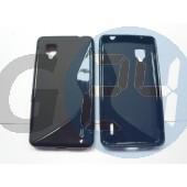 Lg e975 optimus g fekete hullámos szilikontok Optimus G E975  E003711