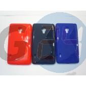 Lg l7 ii (p710) piros hullámos szilikontok LG L7 II   E004439