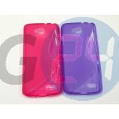 Lg d405 l90 pink hullámos szilikontok D405 L90  E005965