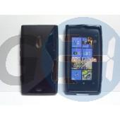Lumia 800 fekete hullámos szilikontok Lumia 800  E001194