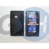 Lumia 900 fekete hullámos szilikontok Lumia 900  E001487