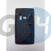 Lumia 505 fekete hullámos szilikontok Lumia 505  E003531