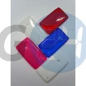 Lumia 520/525 piros hullámos szilikontok  E003763