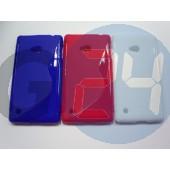 Lumia 720 kék hullámos szilikontok Lumia 720  E003908