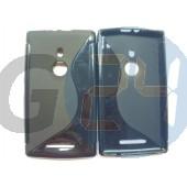 Lumia 925 fekete hullámos szilikontok Lumia 925  E004163