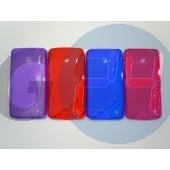 Lumia 630/635 pink hullámos szilikontok Lumia 630/635  E006095